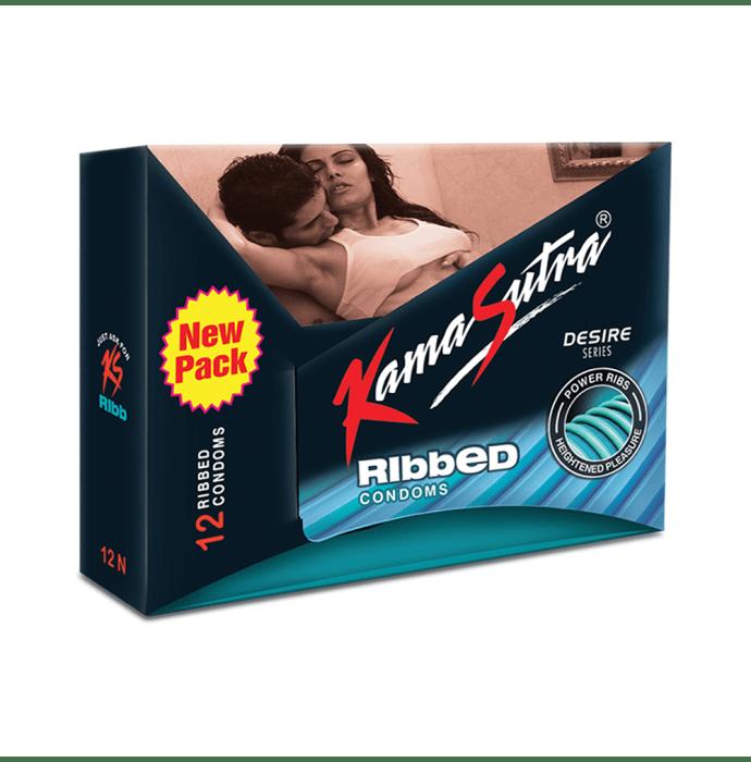 Kamasutra Ribbed Condom