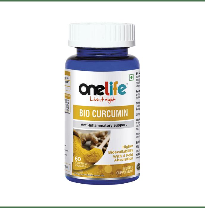 OneLife Bio Curcumin Vegetarian Tablet