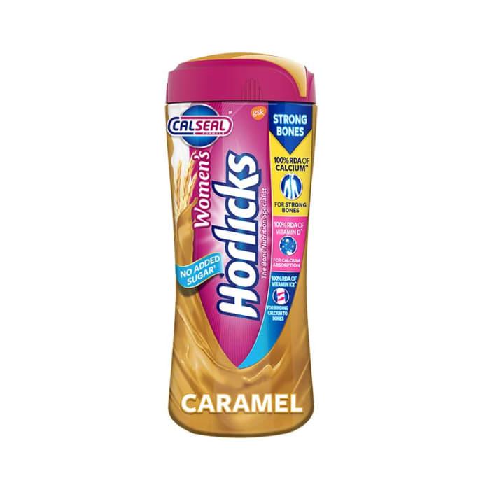 Women's Horlicks Health and Nutrition Drink, No Added Sugar Caramel
