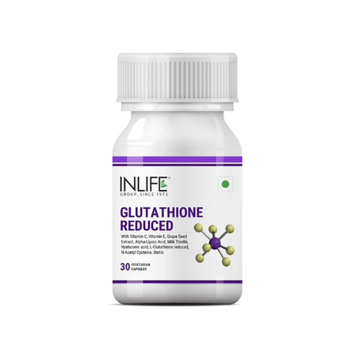 Inlife Glutathione Reduced Vegetarian Capsules