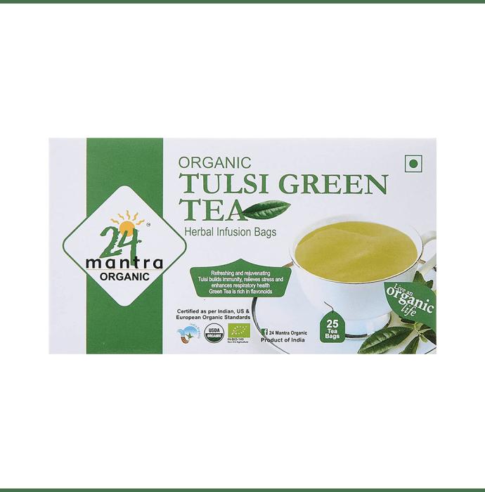 24 Mantra Organic Tulsi Green Tea Bag