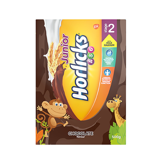Horlicks Junior Stage 2 Powder Chocolate Refill