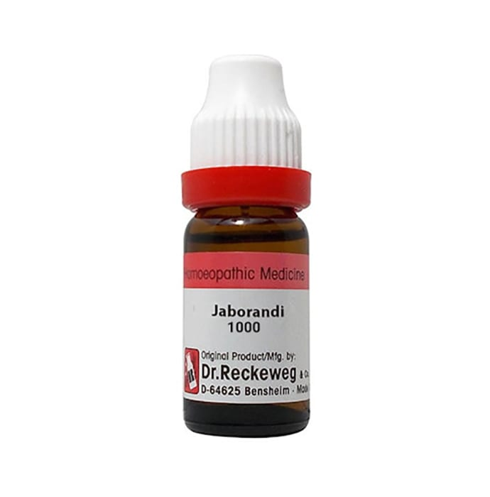 Dr. Reckeweg Jaborandi Dilution 1000 CH