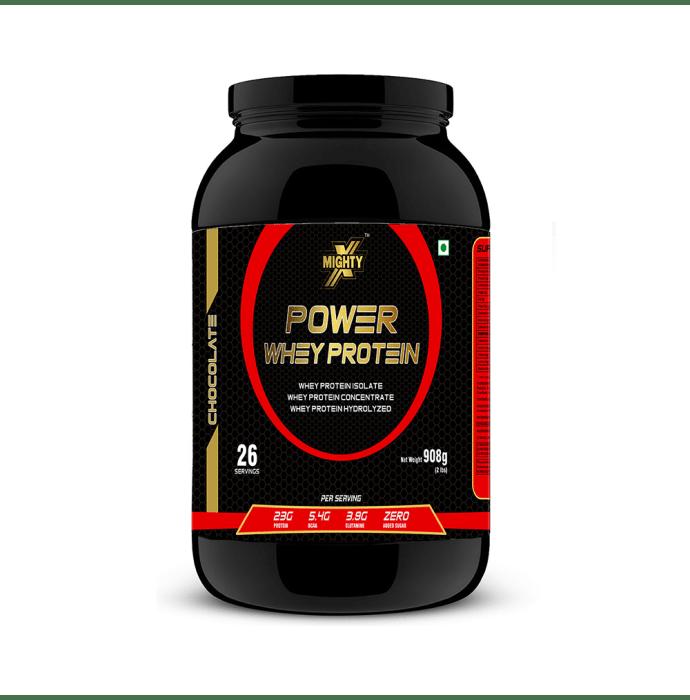 MightyX Power Whey Protein Chocolate