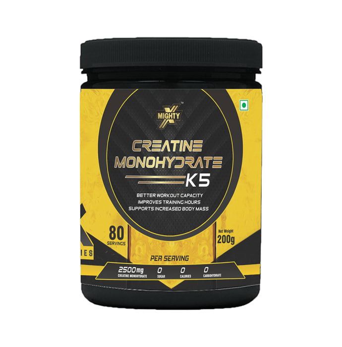 MightyX Creatine Monohydrate K5 Powder