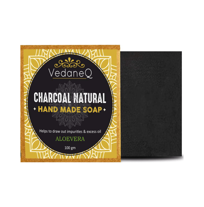 VedaneQ Soap Charcoal Natural