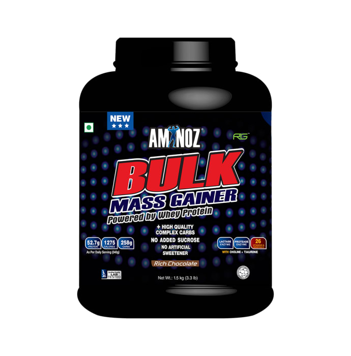 Aminoz Bulk Mass Gainer Rich Chocolate