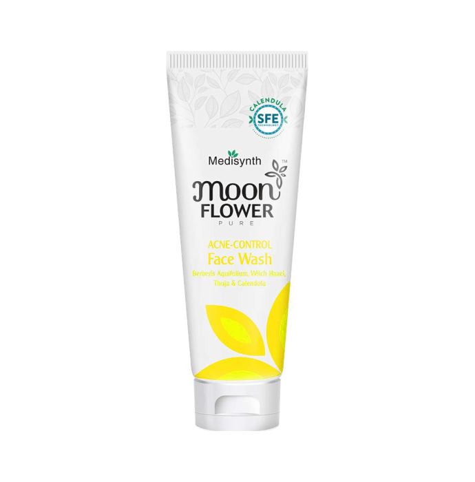 Medisynth Naturals Moonflower Acne-Control Face Wash