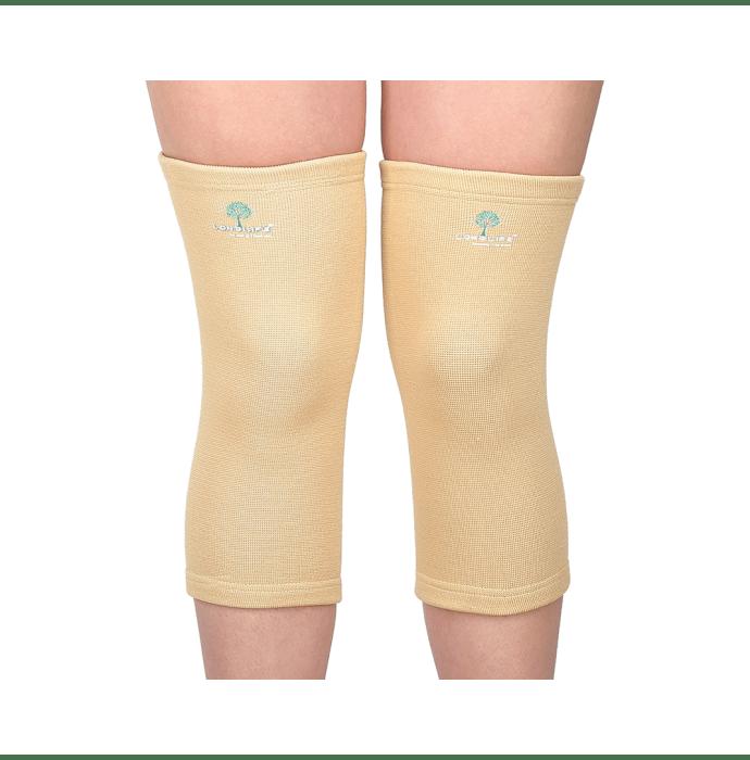 Longlife OCT 002 Regular Knee Support L Skin Colour