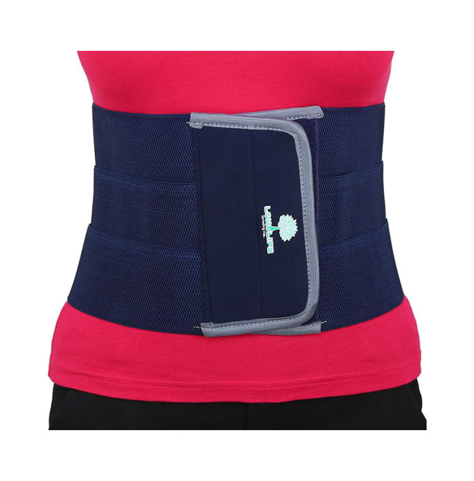 Longlife OCT 004 Abdominal Support L Blue