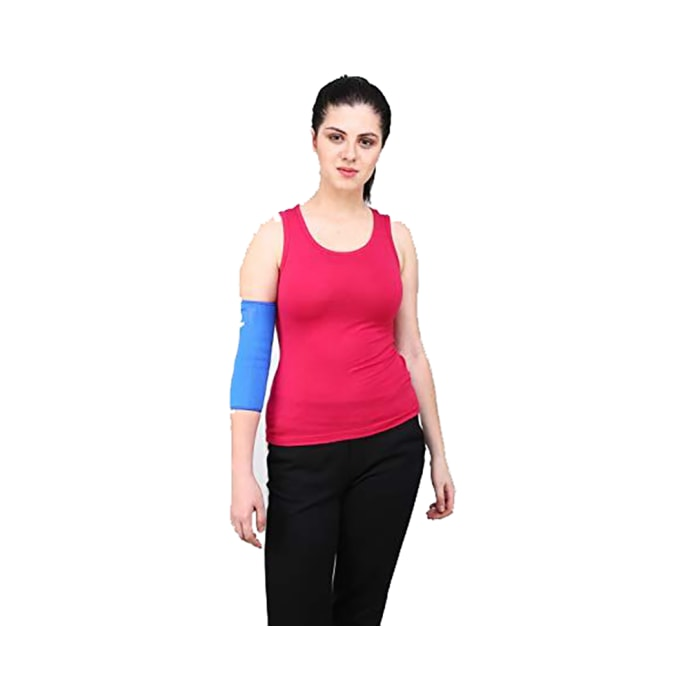 Longlife OCT 13 Elbow Support XL Blue