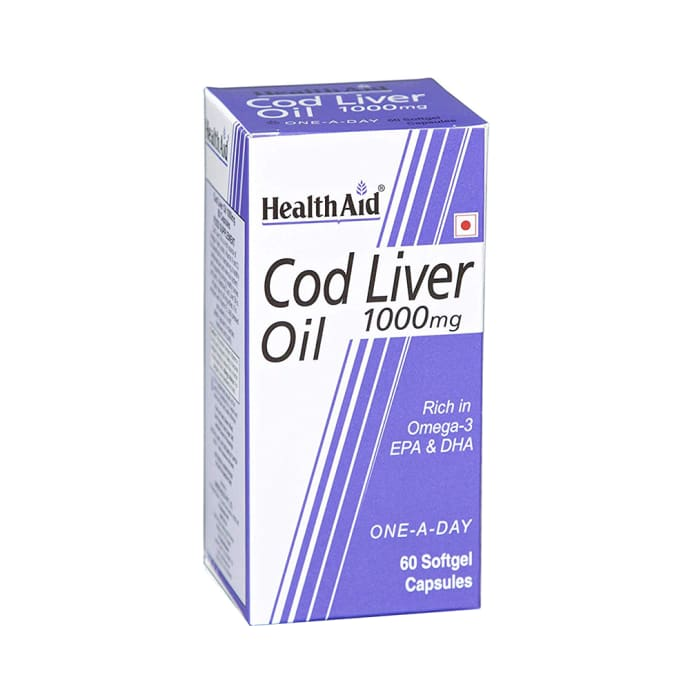 Healthaid Cod Liver Oil 1000mg Capsule