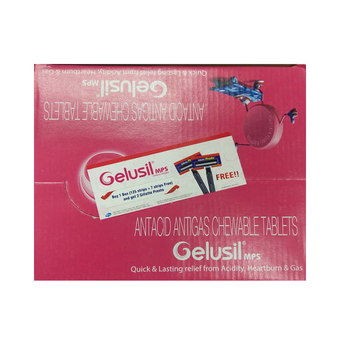 Gelusil Mps Chewable Tablet Mint