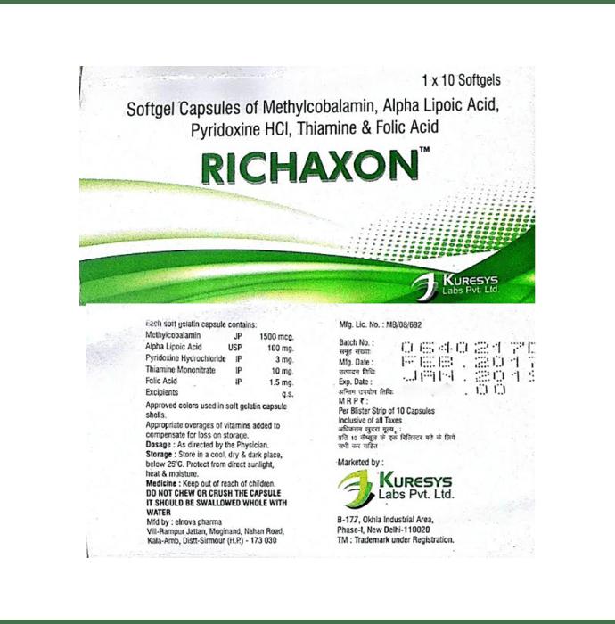 Richaxon  Soft Gelatin Capsule