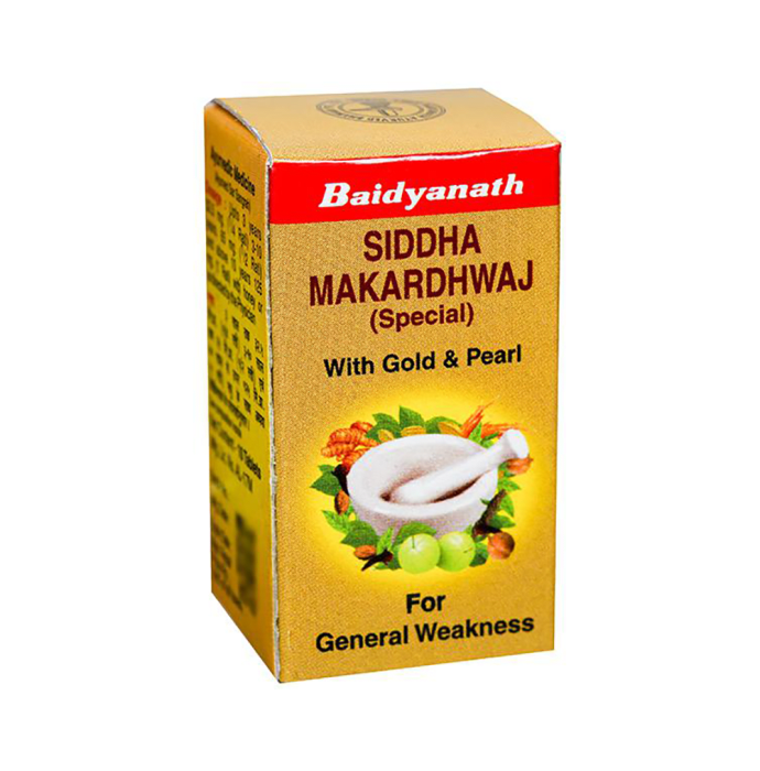 Baidyanath Siddha Makardhwaj Special With Gold and Pearl