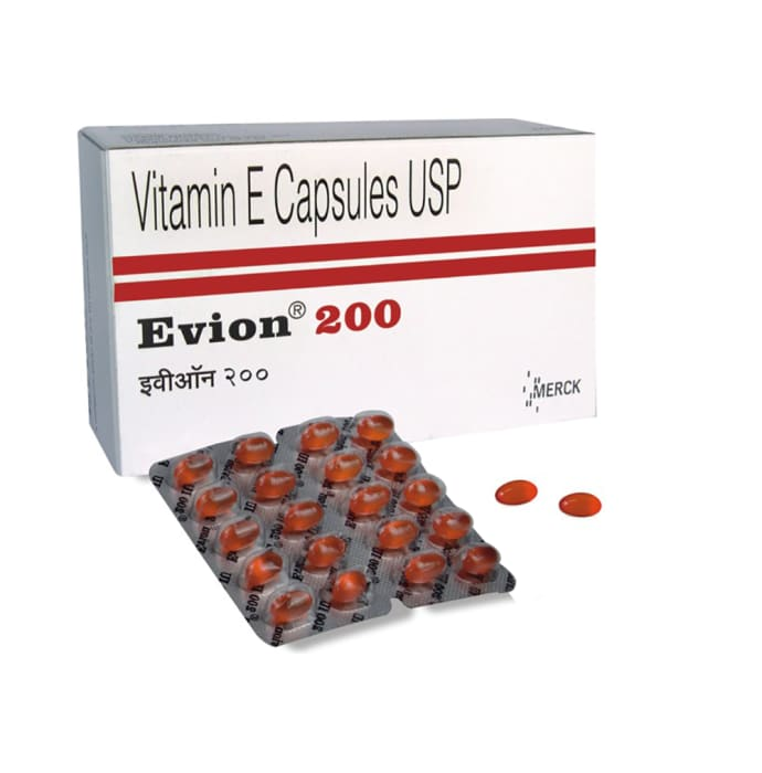 Evion 200mg Capsule