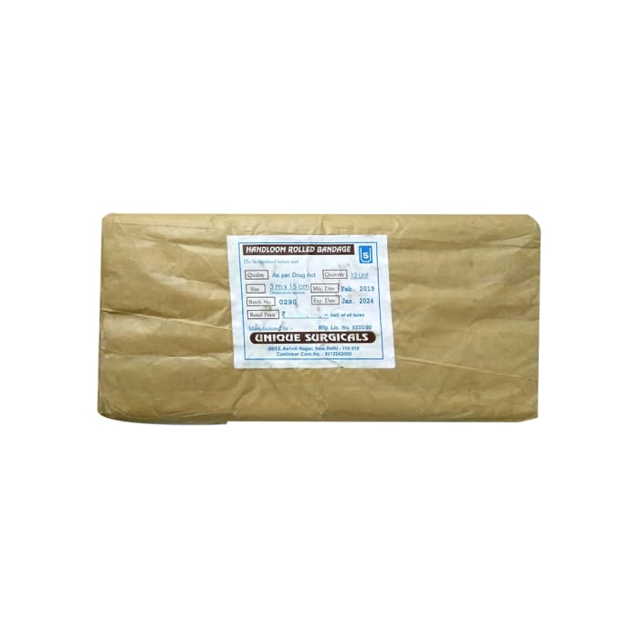 Handloom Rolled Bandage 3m x 15cm