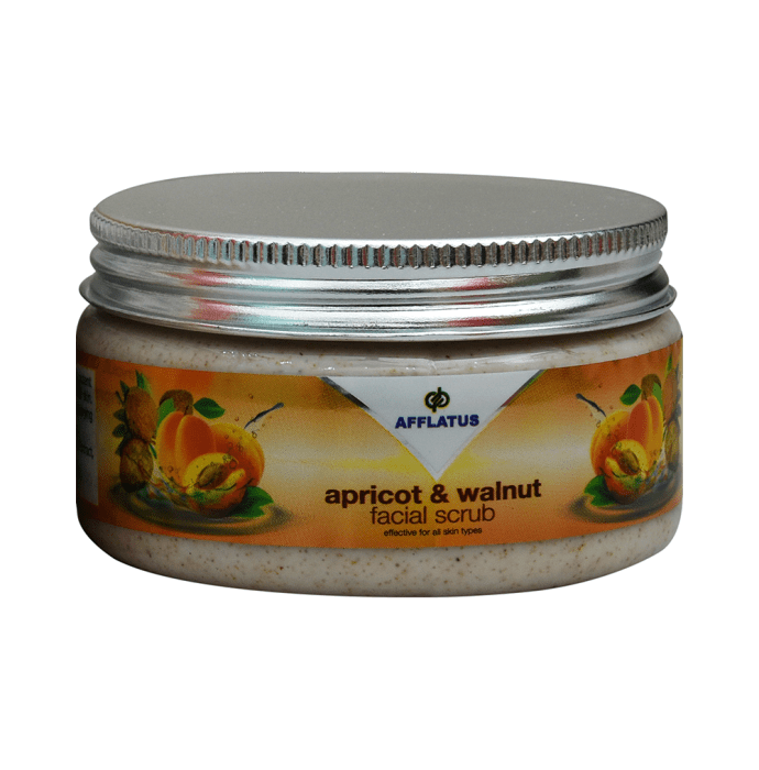Afflatus Apricot and Walnut Facial Scrub