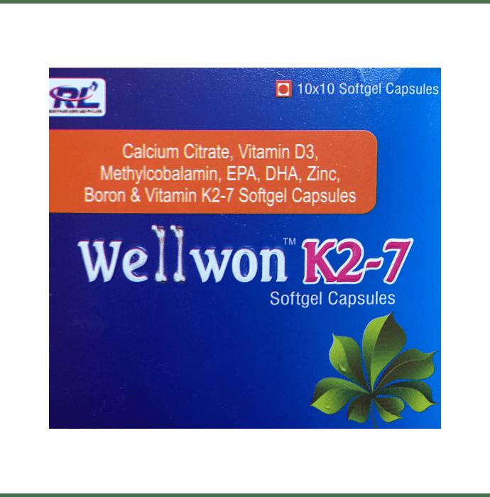 Wellwon K2 7 Soft Gelatin Capsule
