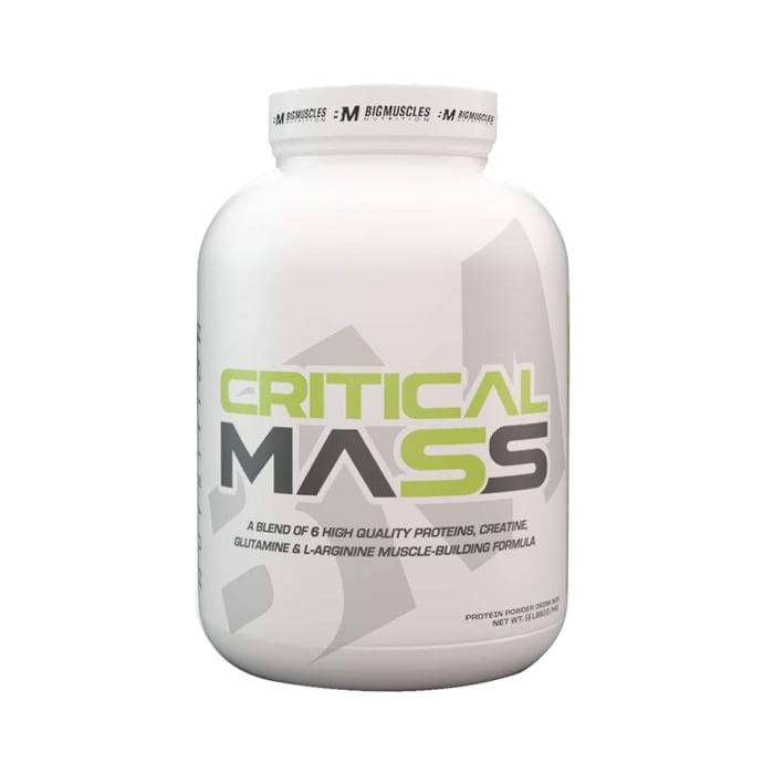Big  Muscles Critical Mass Cookies & Cream