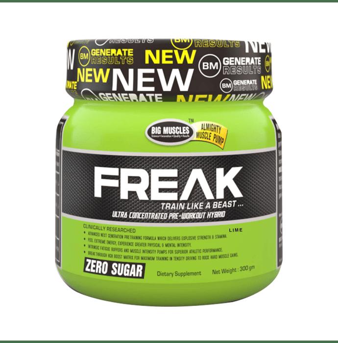 Big  Muscles Freak Lime