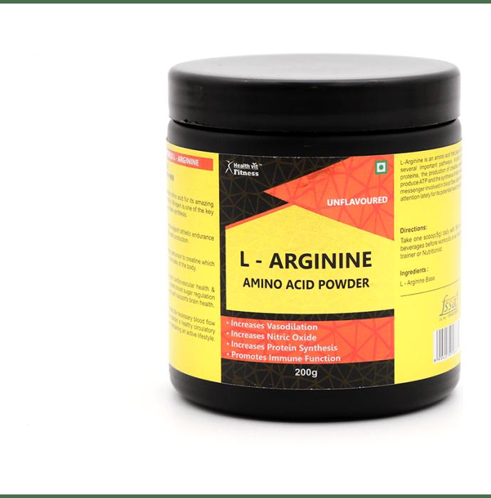 HealthVit L-Arginine Powder Unflavoured