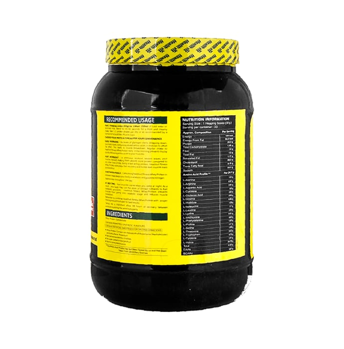 HealthVit Fitness Raw Whey Protein Concentrate 80% Powder