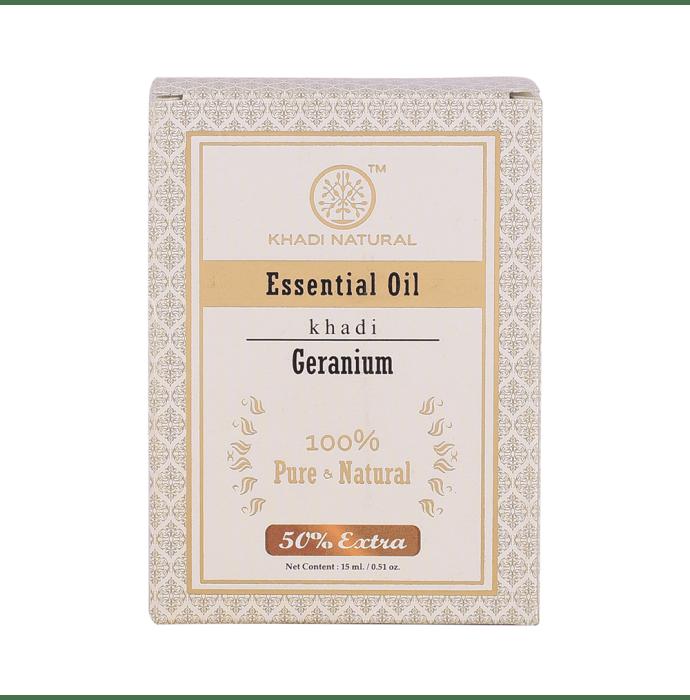 Khadi Naturals Ayurvedic Geranium Essential Oil