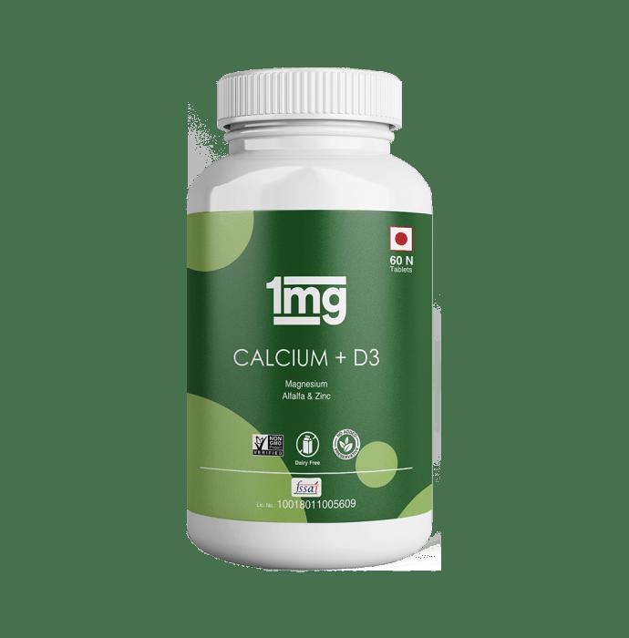 1mg Calcium + D3 Tablet