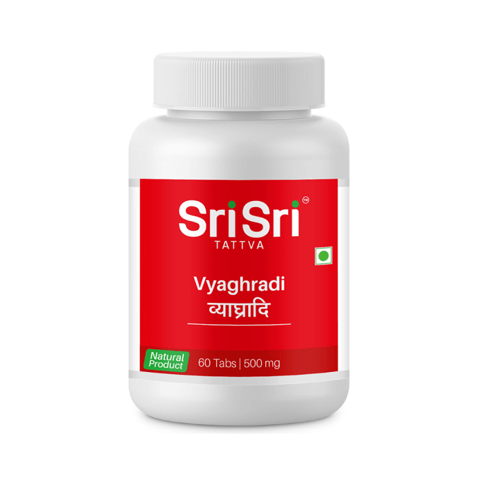 Sri Sri Tattva Vyaghryadi 500mg Tablet