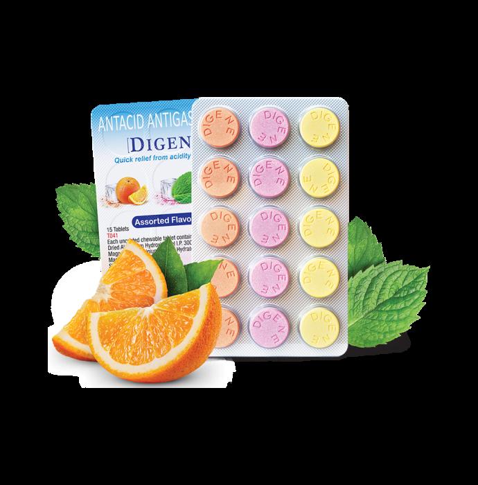Digene Tablet Multi Flavours