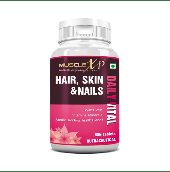 MuscleXP Hair, Skin & Nails Multivitamin Tablet