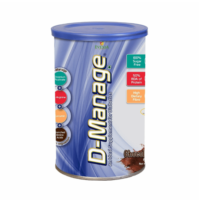 Evexia D-Manage Powder Chocolate