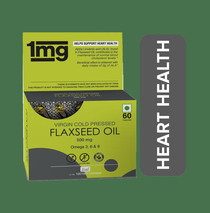 1mg Flaxseed Oil 500mg Capsule