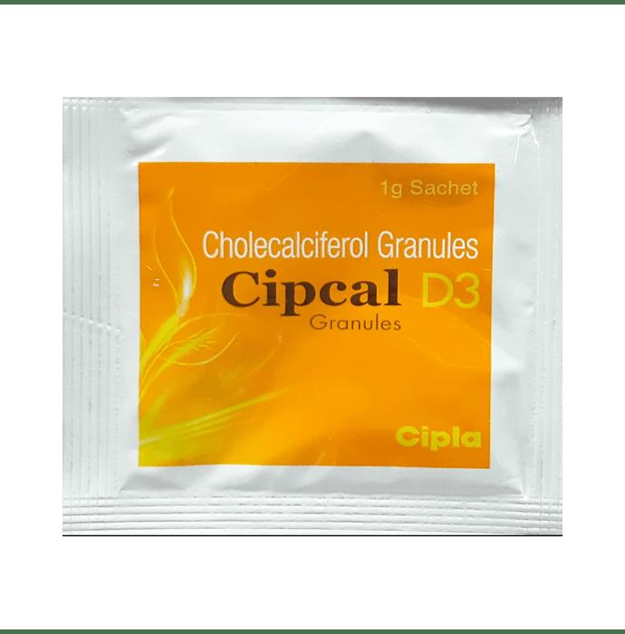 Cipcal - D3 Granules 1 gm