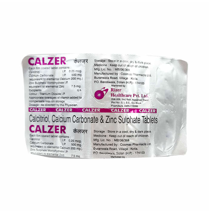 Calzer Tablet