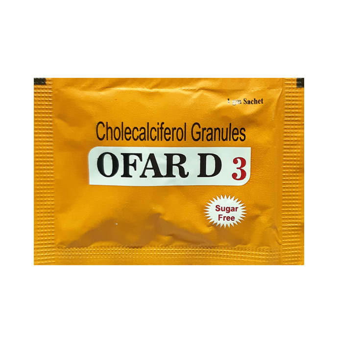 Ofar D3 Sachet Sugar Free