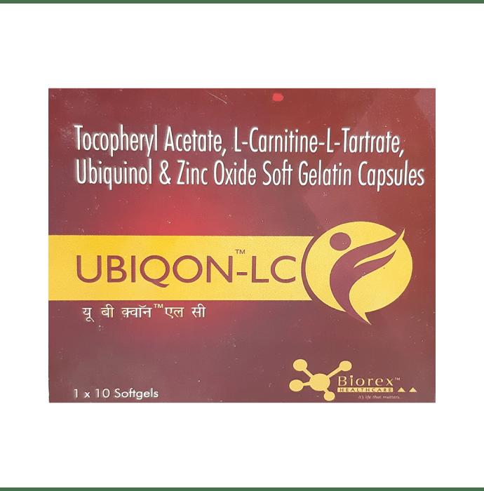 Ubiqon-LC Soft Gelatin Capsule