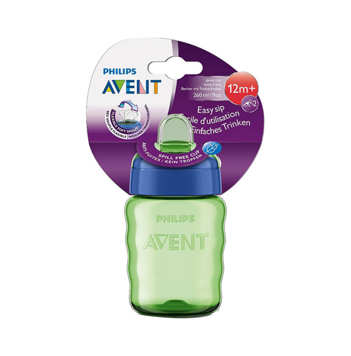 Philips Avent Classic Spout Cup Blue and Green