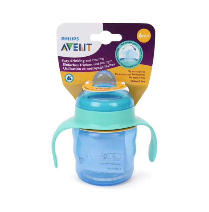 Philips Avent Classic Soft Spout Cup Blue and Green
