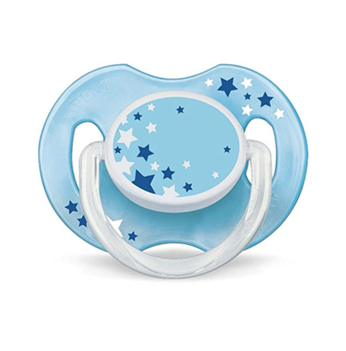 Philips Avent Glow In The Dark Night Time Soothers Multicolor