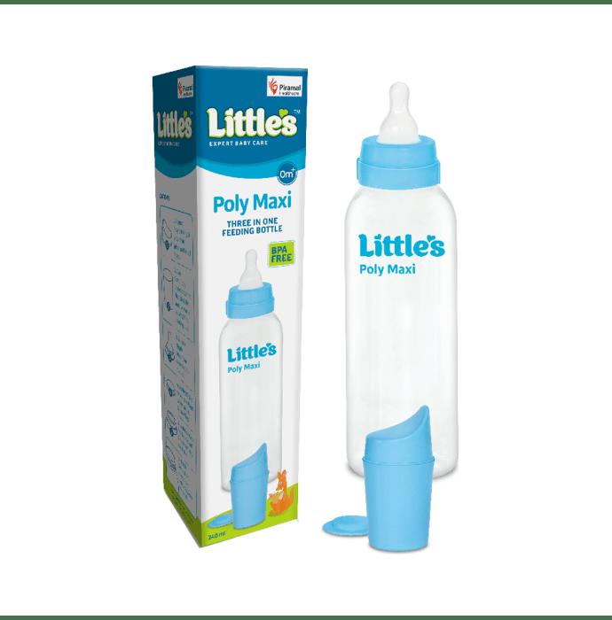 Little's Poly Feeding Bottle Maxi