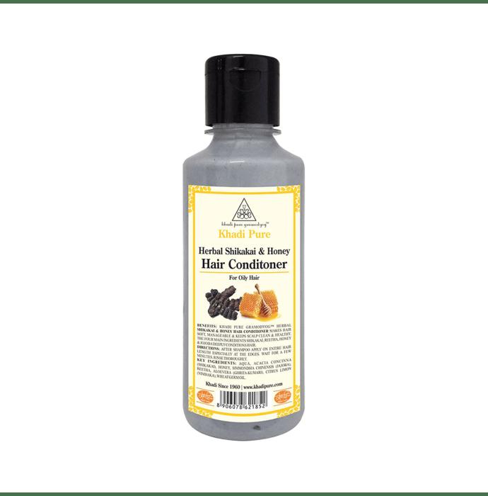 Khadi Pure Herbal Shikakai & Honey Hair Conditioner