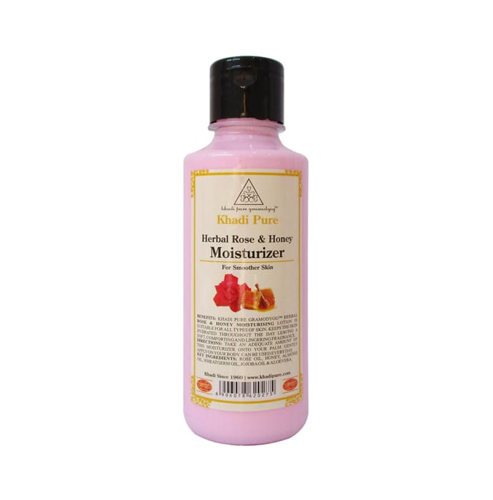 Khadi Pure Herbal Herbal Rose & Honey Moisturizer