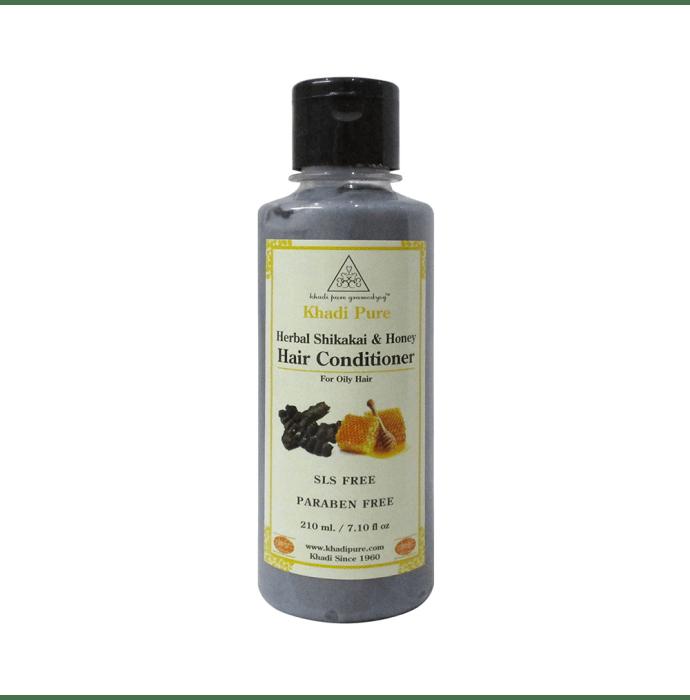 Khadi Pure Herbal Shikakai & Honey Hair Conditioner SLS & Paraben Free