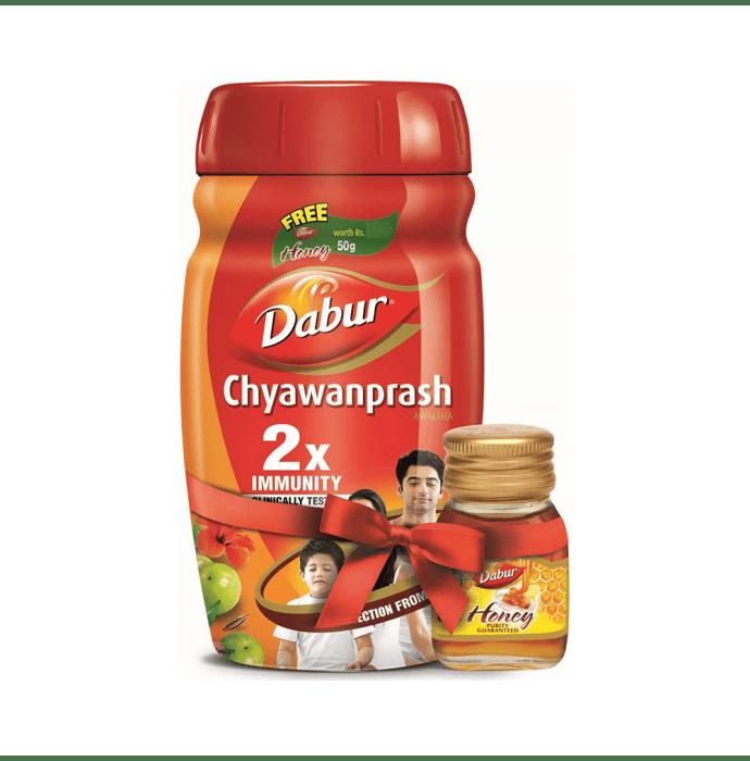 Dabur Chyawanprash 1Kg (Get Dabur Honey 50g Free)