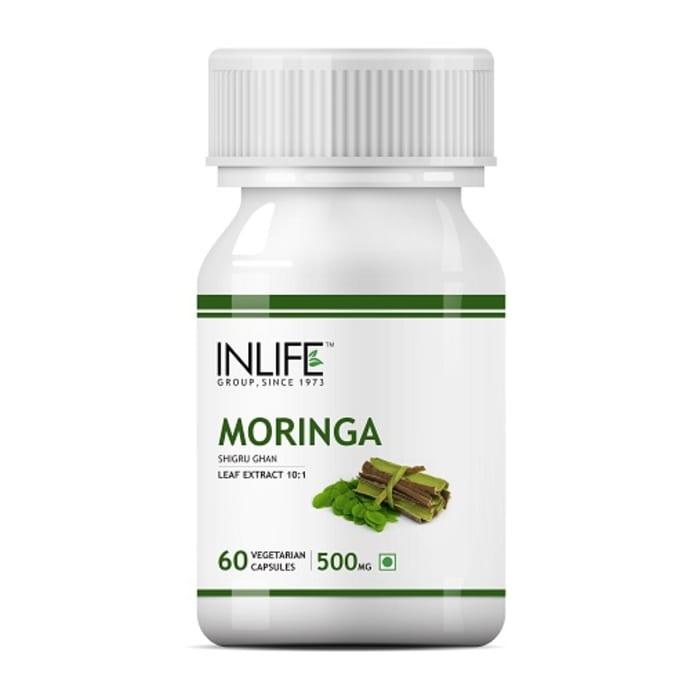 Inlife Moringa Leaf Extract 500mg Capsule
