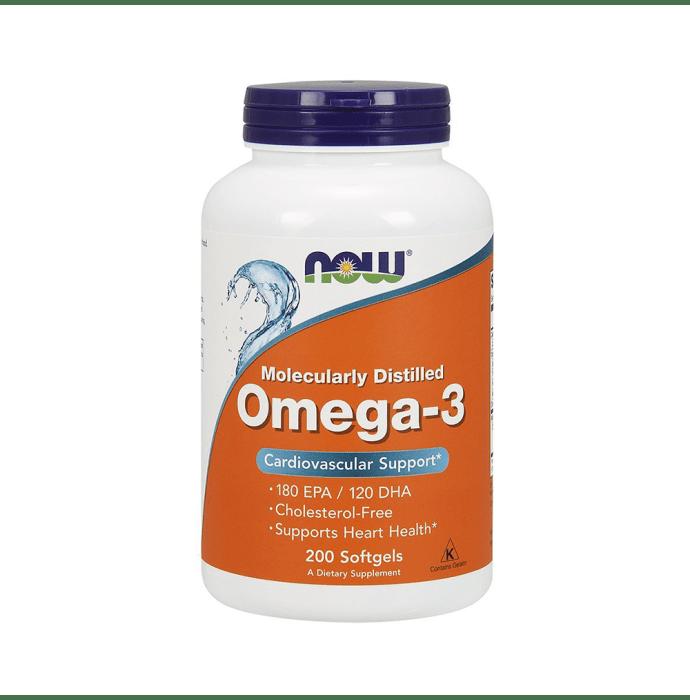 NOW Foods Omega-3 Softgels