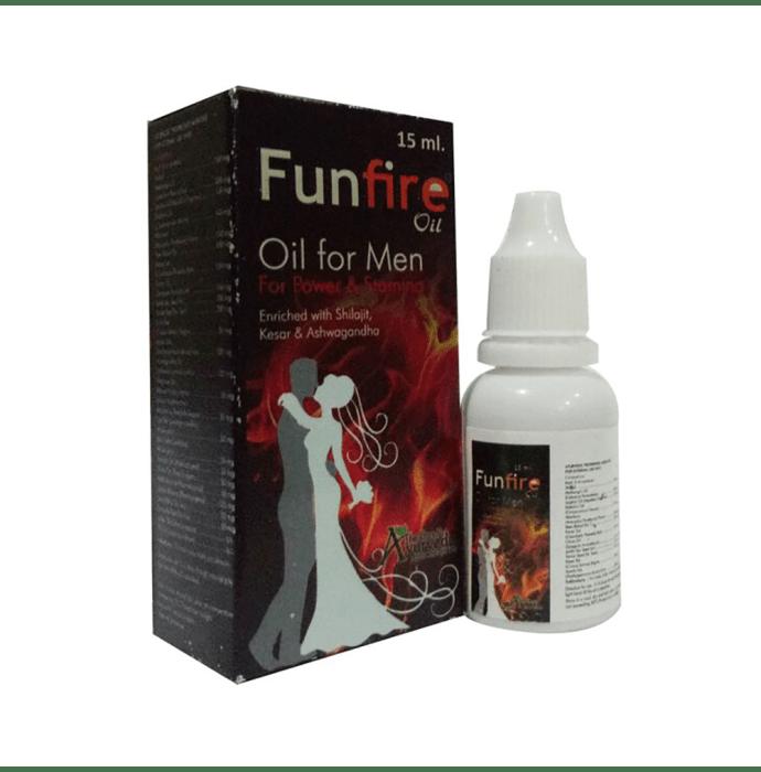 Funfire Viagra Oil for Men