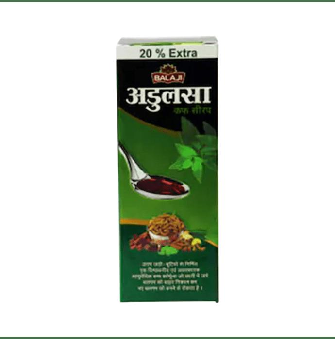 Balaji Adulsa Cough Syrup Pack of 2